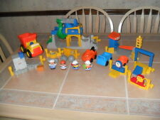Fisher Price Little People Sounds Construction Site Quarry Dynamite Figures More
