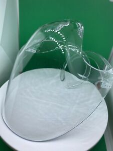 Durable Mask Face Shield Combine Plastic Reusable Clear Transparent Protection