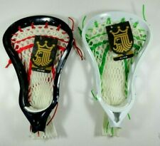 2 New Brine Alias Lacrosse Head Green/White Blue/Red/White