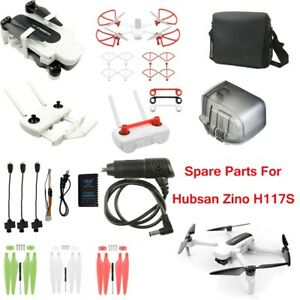 For Hubsan Zino H117S Drone Accessory Propeller/Fixer/ Gimbal Cover/Bag /Charger