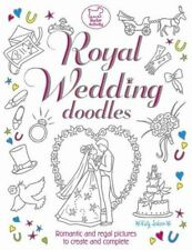 Royal Wedding Doodles by Katy Jackson CHILDRENS COLOURING ACTIVITY DRAWING BOOK