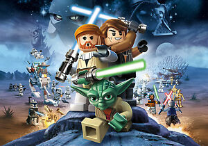 Lego Star Wars Giant Poster - A0 A1 A2 A3 A4 Sizes