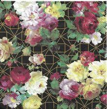 Lot de 4 Serviettes en papier Rose Vintage Decoupage Collage Decopatch