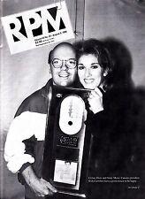 Celine Dion Mega Rare Rpm Magazine Vol 63 August 1996