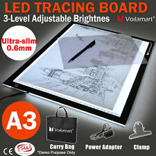A2/A3/A4 LED Tracing Light Box Drawing Board Art Design Paint Copy Pad Day&Light