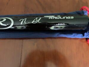 Nick Senzel Fanatics Signed Auto Baseball Bat Cincinnati Reds