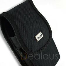 Samsung Galaxy Note 10 Rugged Nylon Holster Pouch Case Belt Clip w/ Bulky Case