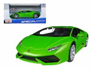 1:24 Lamborghini Huracan LP610-4 -- Green -- Maisto