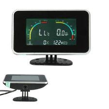 4 in 1 Car Auto LCD Digital Display Voltmeter/Water Temp/Oil Pressure/Fuel Gauge