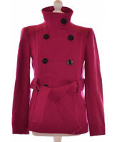 Manteau ZARA Taille 38 - T2 - M Rose Occasion TBE