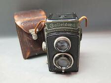 Vintage Rolleicord Camera Franke & Heidecke Braunschweig Compur Lens w Orig Case