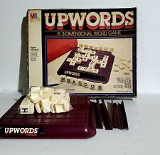 Milton Bradley Vintage 1983 Upwords 3 Dimensional Word Game