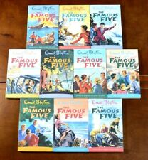 Matching Set 1-10 PB The Famous Five by Enid Blyton LIKE NEW Treasure Island L1