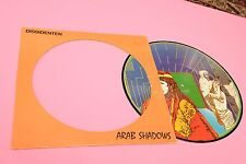 DISSIDENTEN LP ARAB SHADOWS ORIG ITALY 1985 EX+ PICTURE DISC !