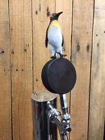 Pittsburgh Penguins TAP HANDLE Hockey Puck Beer Keg Figure NHL Kegerator