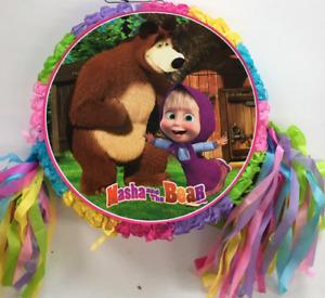 Masha and the Bear Pinata~ Birthday Party  Game ..FREE SHIPPING