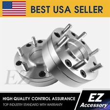 2 Hub Centric Wheel Adapters 5x135 To 6x135 | 6 Lug F150 Wheels on 5 Lug F150