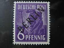 BERLIN GERMANY Mi. #2 mint MNH black overprint stamp! CV $4.80