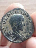 Philip II as Caesar A.D.244-247 AE sestertius 30mm PRINCIPI IVENT