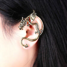 SILVER Game  Thrones Inspired Dragon Left Ear Wrap Cuff Earring-Mailed from USA