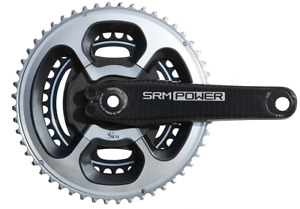 SRM Origin Tribole Carbon Rechargeable PowerMeter Shimano 9000 53/39 Black PC8