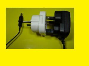 Netzteil–Ladegerät / Europäischer Adapter 7,2 V- 200 mA