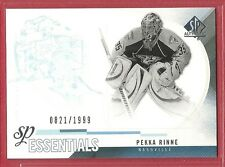 2010-11 Sp Authentic Hockey Essentials - #165 - Pekka Rinne - Predators