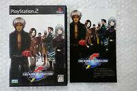 "The King of Fighters 2001 ""Good Condition"" Sony PS2 Playstation2 Japan"