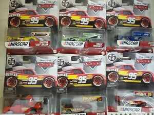 2021 Disney Pixar Cars - NASCAR - Lot of 6 Cars