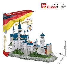 Puzzle 3D CASTILLO NEUSCHWANSTEIN CubicFun Rompecabezas Castillo Medieval j268