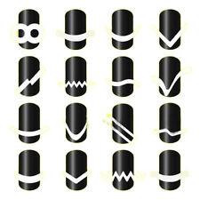 Neu Aufkleber Französisch Nail Art French Maniküre Sticker Nagel Schablone DIY