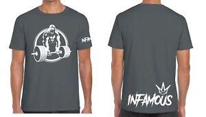 Train Like An Animal Gym Muscle Body Building Printed Tee Shirt