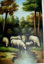 Pastorals  ~ Hand Painted High Quality Oil Painting on Canvas 24