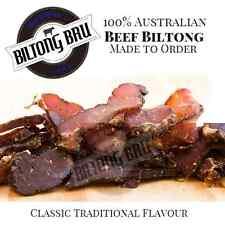 500G ORIGINAL BEEF BILTONG   SOUTH AFRICAN JERKY   USING QUALITY AUSTRALIAN BEEF