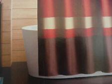 "Home Color Block Fabric Shower Curtain 72"" x 72"" NIP"