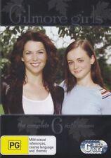 Gilmore Girls The Complete 6th Season DVD 6 Disc BOXSET Aus Region 4