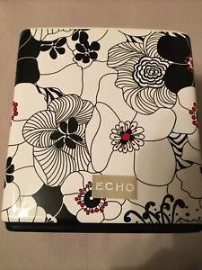 Echo Vintage Floral Ceramic Tissue Box Cover - New Orig.$39.99