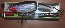 """5 1/4"""" X-Rap Jointed Shad Rap Normark Rapala Silver XJS13-S Musky Pike Lure"""