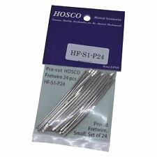 Hosco Japan 24 Pieces of 2mm (Vintage) Guitar Fret Wire 70mm Long