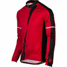 Hincapie Performer Long Sleeve Thermal Cycling Jersey Red Black Size Small New