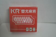 KR Standard Playing Cards, 2 packs, sealed with decorative oriental case