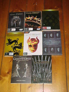 GAME OF THRONES COMPLETE 1-8 BOX SETS