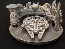 Disneyland Star Wars Galaxy Edge Iconic Ship Millennium Falcon Figurine Ornament