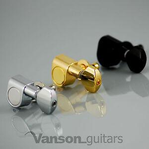 6 x Vanson VN07 Tuners for Stratocaster Telecaster Strat Tele Squier Jackson ®*