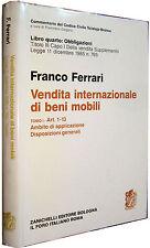 Vendita internazionale dei beni mobili TOMO 1 Ferrari ZANICHELLI 1994