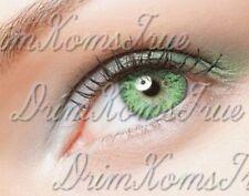 Lentille de couleur Vert / Green // 3 Tons // Utilisable 3 Mois //  Vendeur Pro