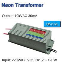 Neon Electronic Transformer 10KV30mA 100W Load 10M Neon Power Supply Rectifier