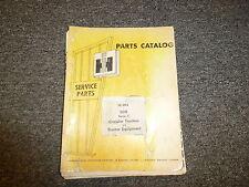 International IH 500C Crawler Tractor w/ 510 Blade Parts Catalog Manual
