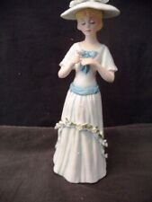 Enesco Lady with Flower #E9009