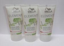 Wella Care Elements Stärkendes Shampoo  3 X 30ml